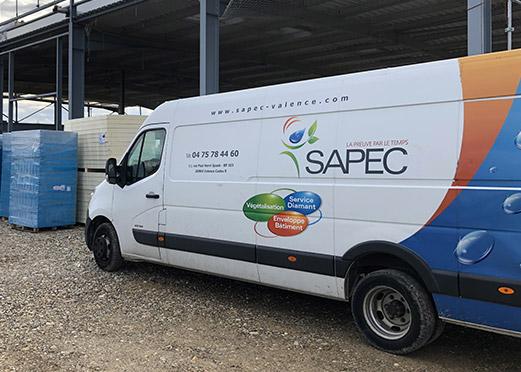 Camion SAPEC